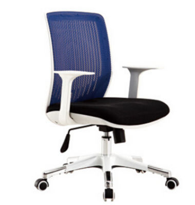 Foshan office supplies modern design black ergonomic executive mesh office chair with arm