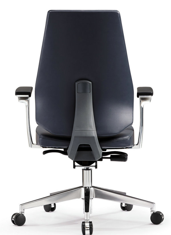 luxury high back leather ergonomic executive office chair Hot Sitting