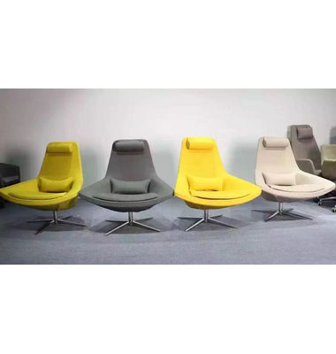 New Design Fabric Relax Chair Swivel Modern Leisure Chair