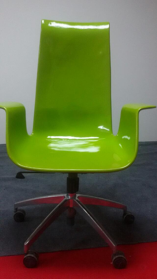 ABS plastic seating rotatable, capable club lifting bar chair