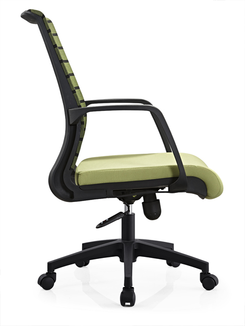 Attractive mid back ergohuman mesh standard back office chair with armrest