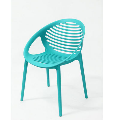 restaurant leisure curvy full plastic emes chair for event