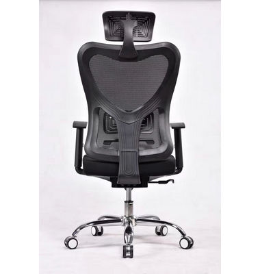 Armrest Contolling High Grade Ergonomic Office Chair In Full Mesh Finish