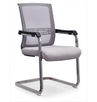 Good Quality fabric Black Conference Chair chrome Armest Chair