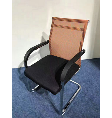 latest fashion top design Used student chairs furniture perspex folding mesh chair training room