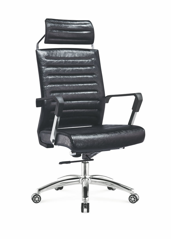 high back soft pad office chair, high back soft pad manager chair,leather senior chair