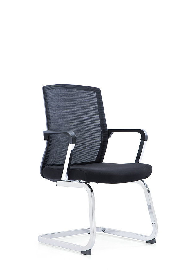 Best popular leather office chairs meeting chair with no wheels