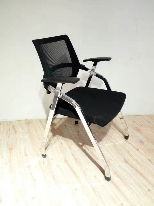Foshan Supplier Foldable Office Training Chair With Tablet Arm cheapest training office chair