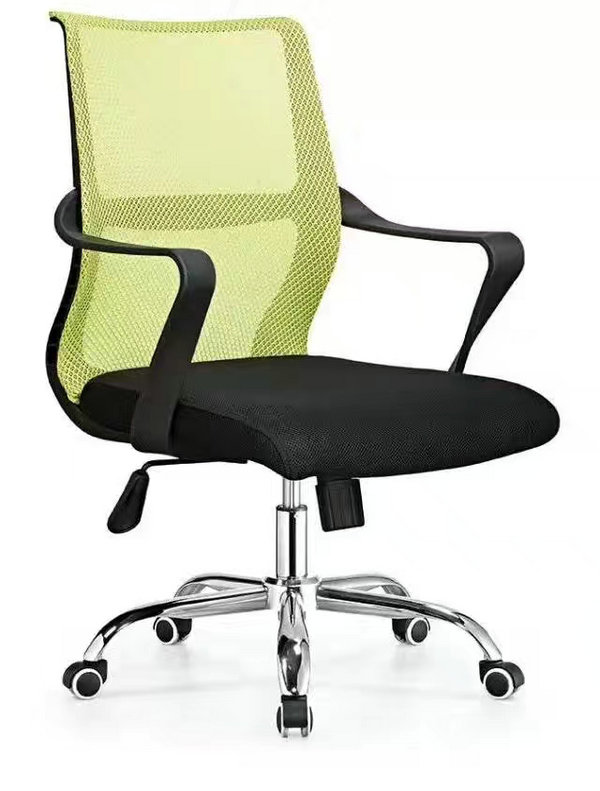 Staff swivel lift computer office chair with wheels