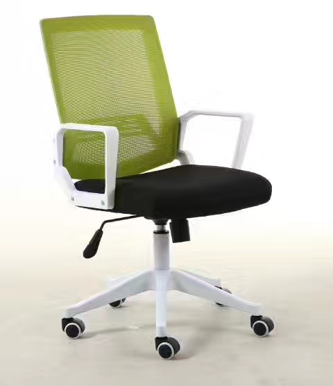 New arrival low back black computer staff mesh ergonomic office chair with low price