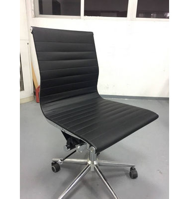 Modern High back Ergonomic Swivel Conference Black Leather Office Chair