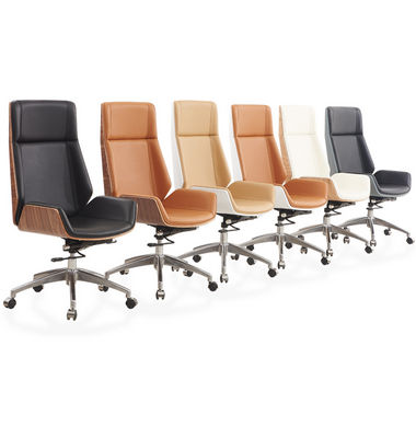 Modern Best Luxury Ergonomic Boss Office Leather Chair
