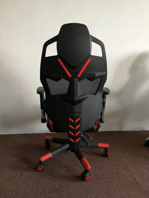 New design High-back armrest adjust adjustable lumbar support office race game racing chair