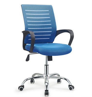 Mid back office staff computer desk chair mesh office task chair