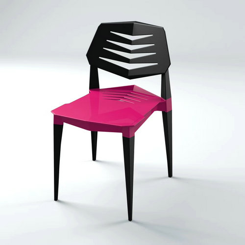 China Back Breathable Colorful Dining Stackable Plastic Chairs