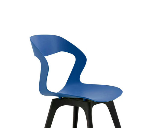 Plastic chair Scandinavian forest leisure chair for living room