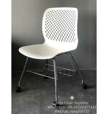 Home furniture modern cheap plastic dining chair school classroom chair for wholesale