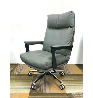 Wholesale High Quality Modern Luxury Black PU Leather Adjustable Ergonomic Executive Office Chairs