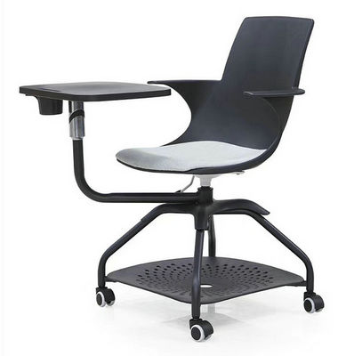 office furniture manufacturer folded fashion student training study chair with writing pad