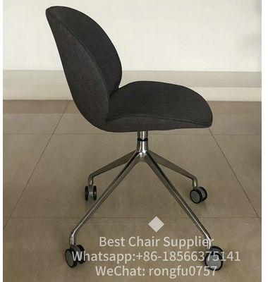 PP office chair fabric chair swivel chair cup chair castors dinner chair meeting chair waiting chair