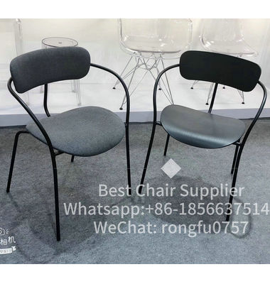 UK Free Delivery Upholstery Velvet Leisure Restaurant Home Funiture Luxury Fabric Dining Chairs