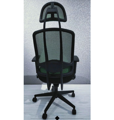 Professional type mesh back headrest PP armrest height adjustable swivel fabric cushion executive office chair