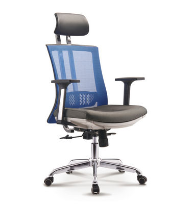 Commercial Ergonomic Office Chair High Back Mesh Office Chair Adjustable Headrest Computer Desk Chair for Lumbar Support