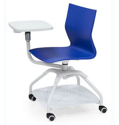 New design practical hot sale durable anti-corrosion comfortable future chair with writing board and wheels