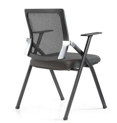 Mesh Stackable chair task foldable chair with option writing board