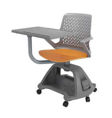 Folding Armchairs Interactive Chairs With Tables Attached Writing Board training school chair