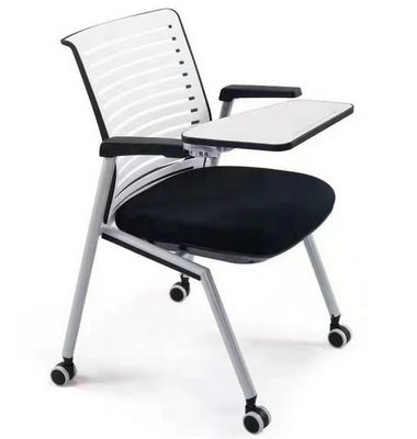 Multi-functional Removable Conference office training chair with Wheels with Writing Board