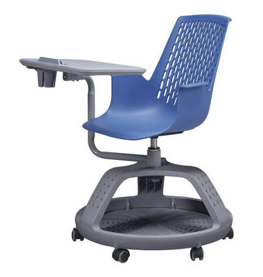 360 swivel sketching chair interactive school plastic node chair school student chair with writing pad