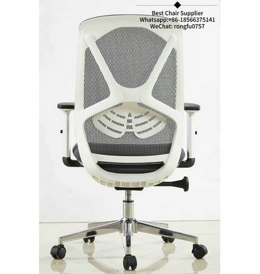 high quality upholstered staff medium back fabric office chair of Typist Use