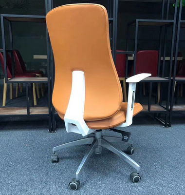 Luxury swivel fabric office chair yellow leather executive ergonomic chair mobile executive office chairs office chair
